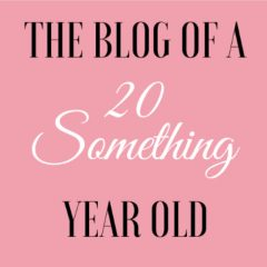 The Blog of a 20-Something Year Old